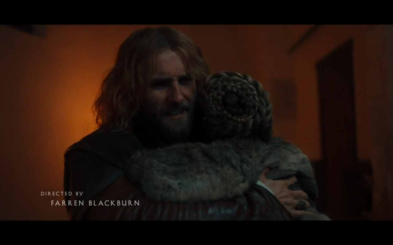 Disc of Witches S2Ep7 Gallowglass Hugs Diana