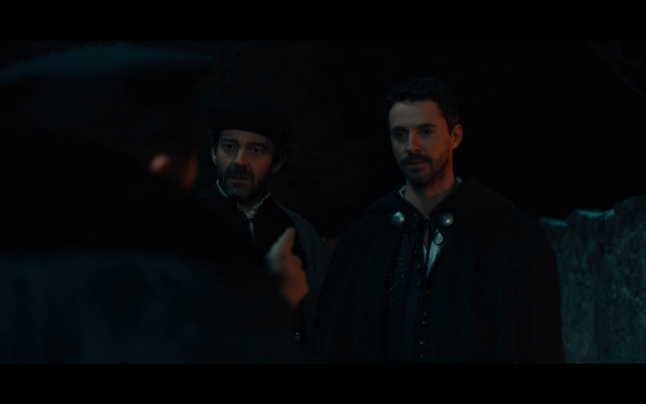 Disc of Witches S2Ep7 Matthew & Pierre