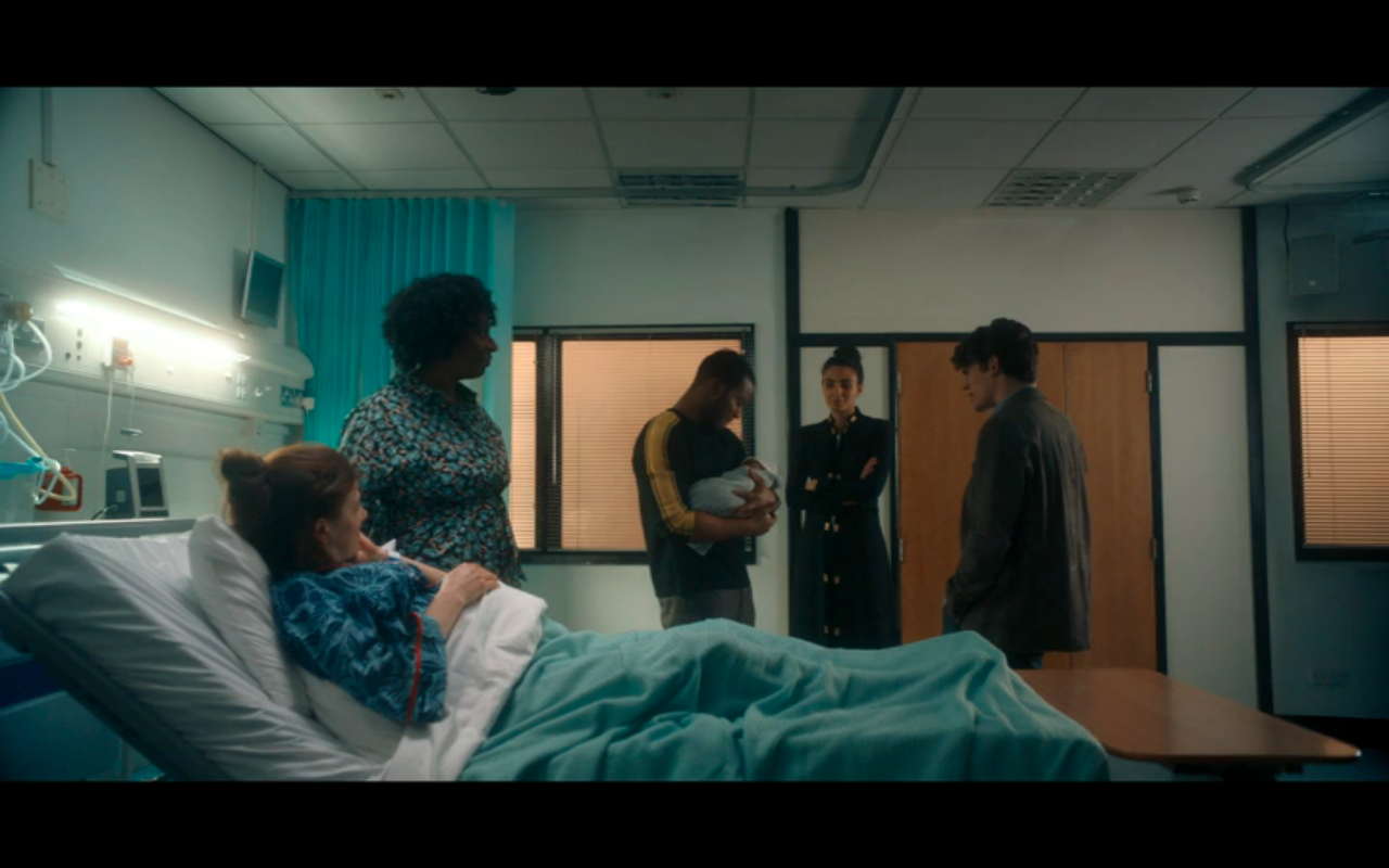 Disc of Witches S2Ep8 Baby Margaret & Admirers at Hospital