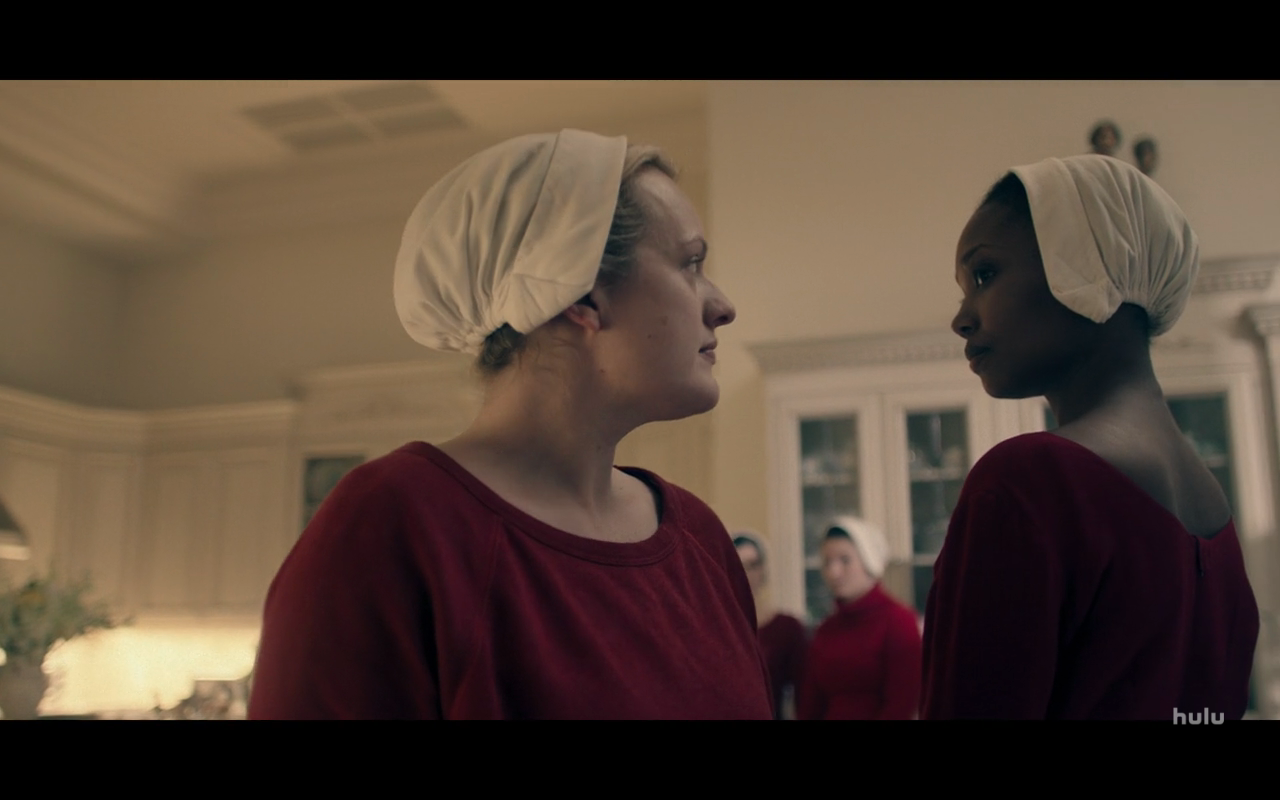 Handmaid's Tale S3Ep4 June & Natalie Square Off