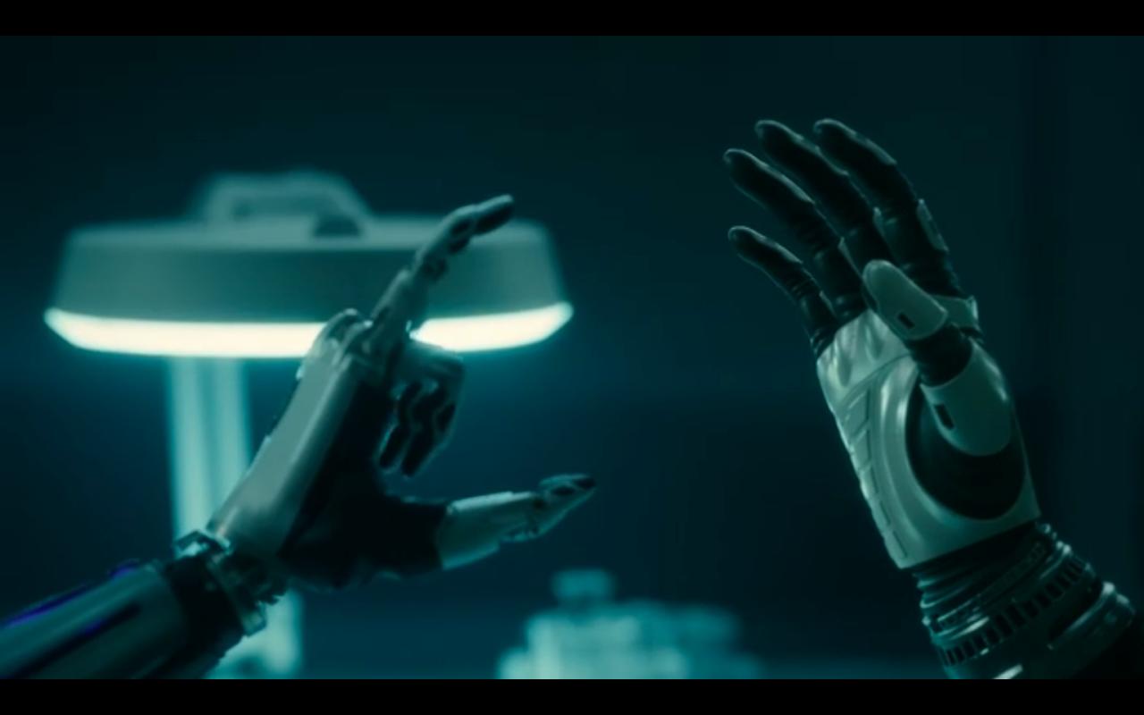 Snowpiercer S2Ep10 Robot Hands