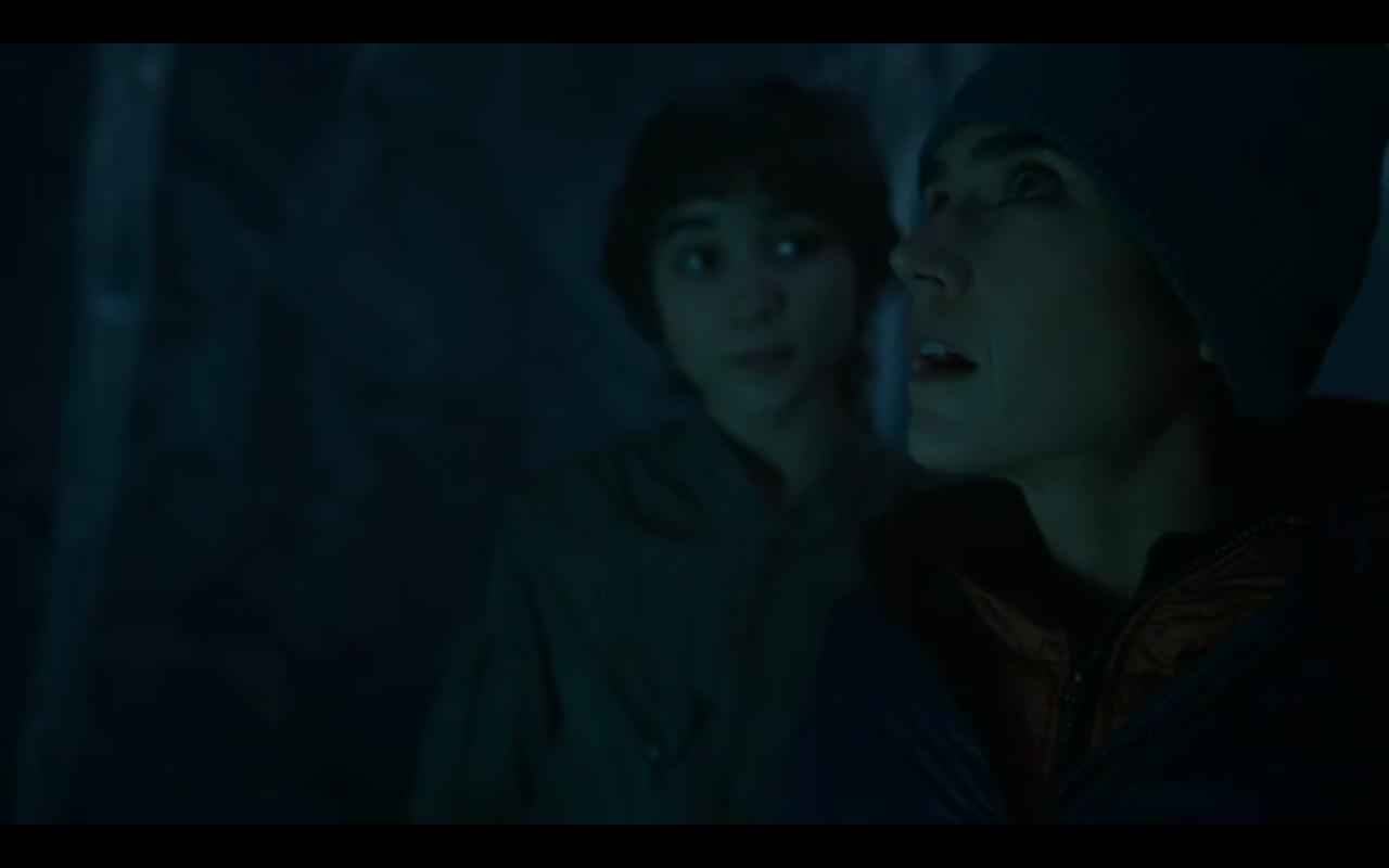 Snowpiercer S2Ep6 Alex & Mel in Cave
