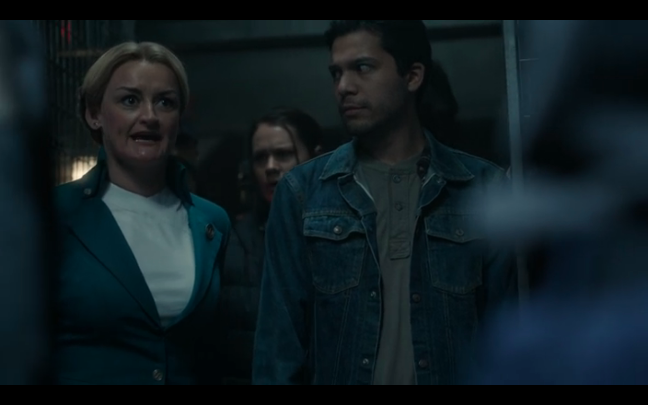 Snowpiercer S2Ep7 Ruth Argues for Layton's Release