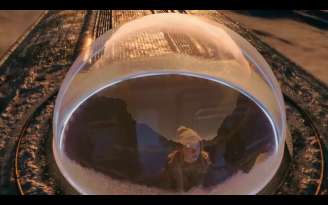 Snowpiercer S2Ep7 Winnie Looks Out Dome