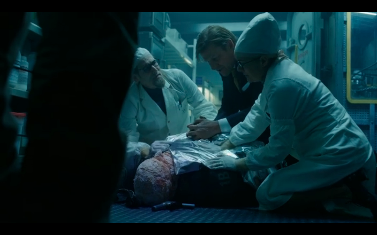 Snowpiercer S2Ep8 Icy Bob Comes Inside