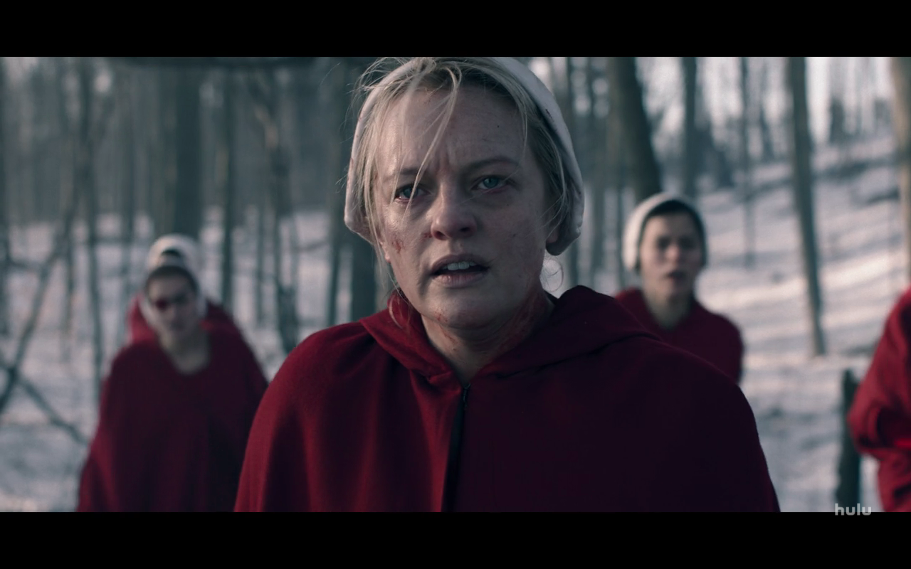 The Handmaid's Tale S4Ep1 June in Woods