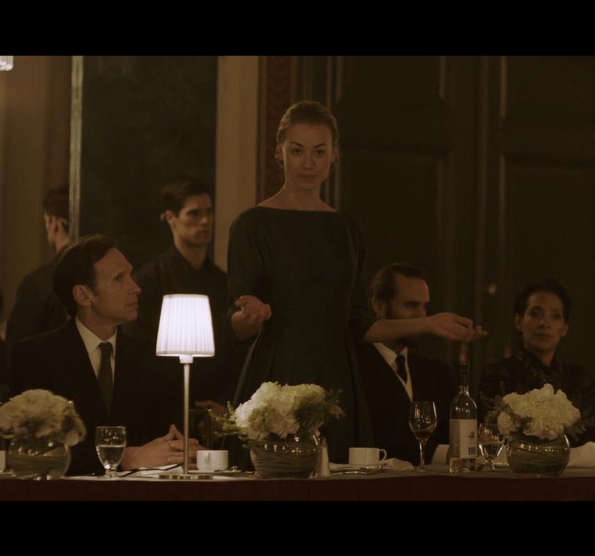 Handmaid's Tale S1Ep6 Serena at Diplomat's Dinner
