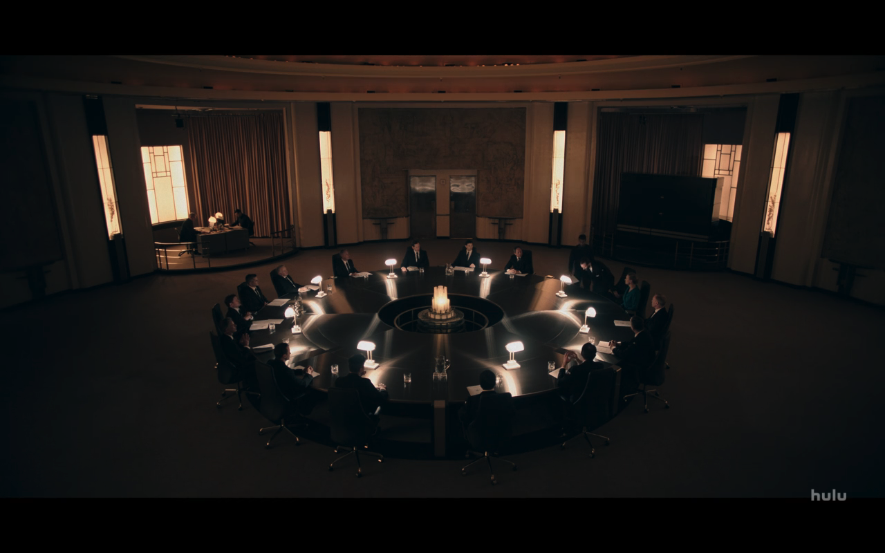 Handmaids Tale S3Ep5 Commander's Round Table