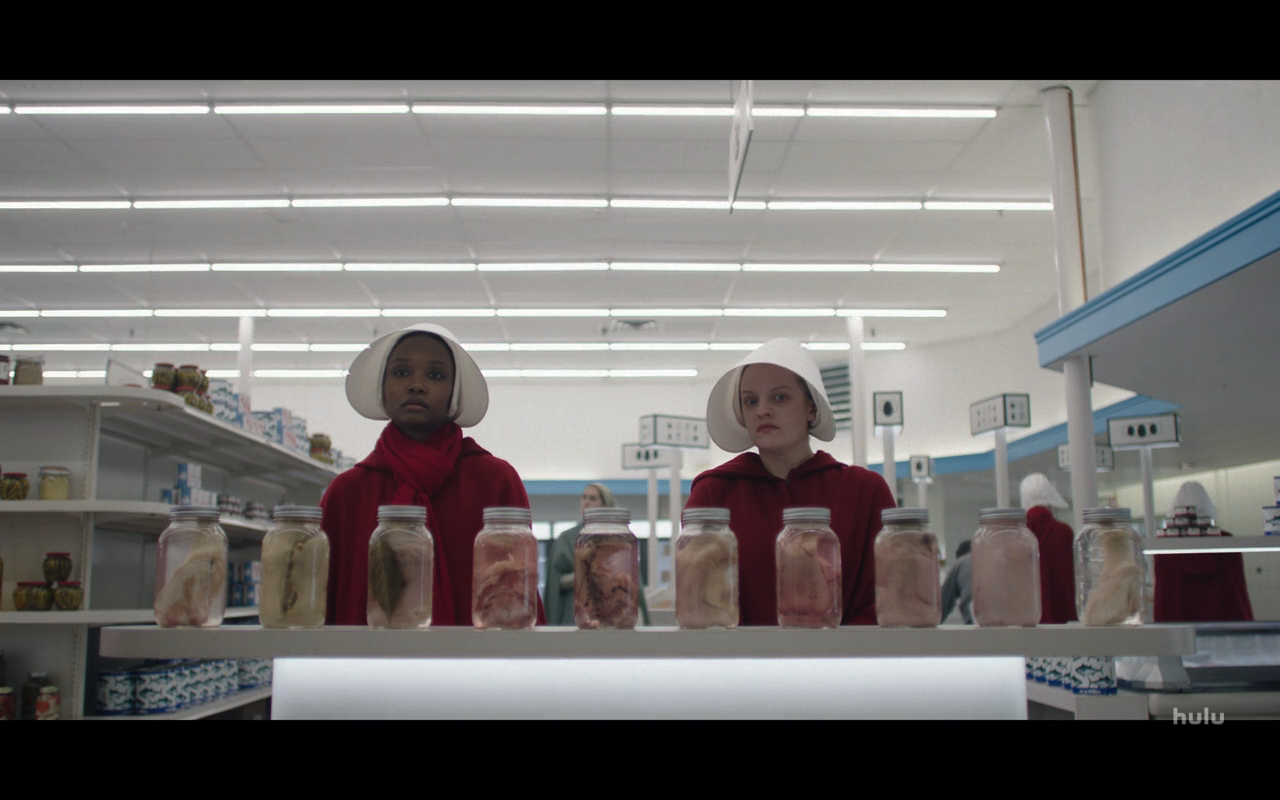 Handmaids Tale S3Ep5 June, Ofmatthew & the Pickled Meats