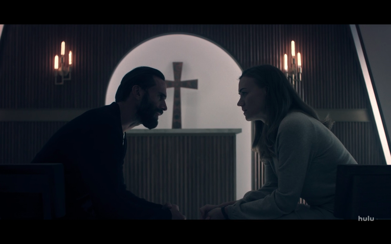 Handmaid's Tale S4Ep2 Fred & Serena