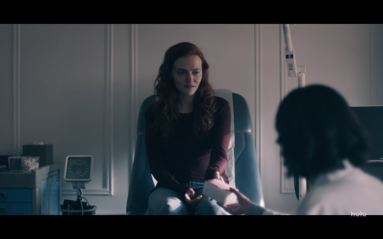 Handmaid's Tale S4Ep4 Janine at Abortion Clinic