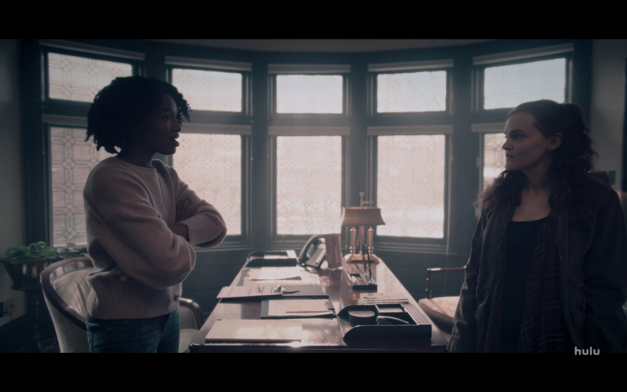 Handmaid's Tale S4Ep4 Janine at Crisis Center