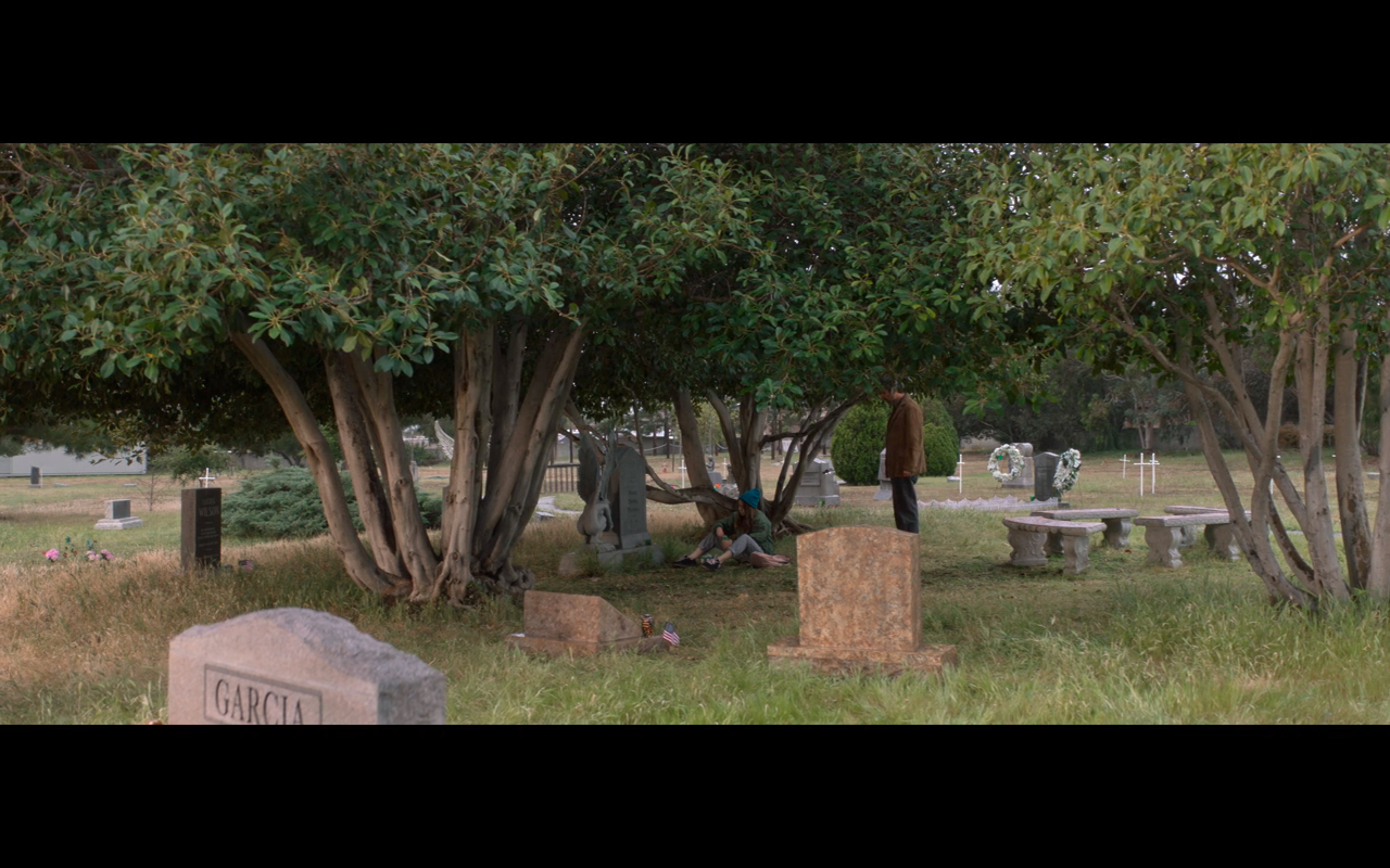 Made for Love S1Ep6 Hazel & Herb at Cemetery